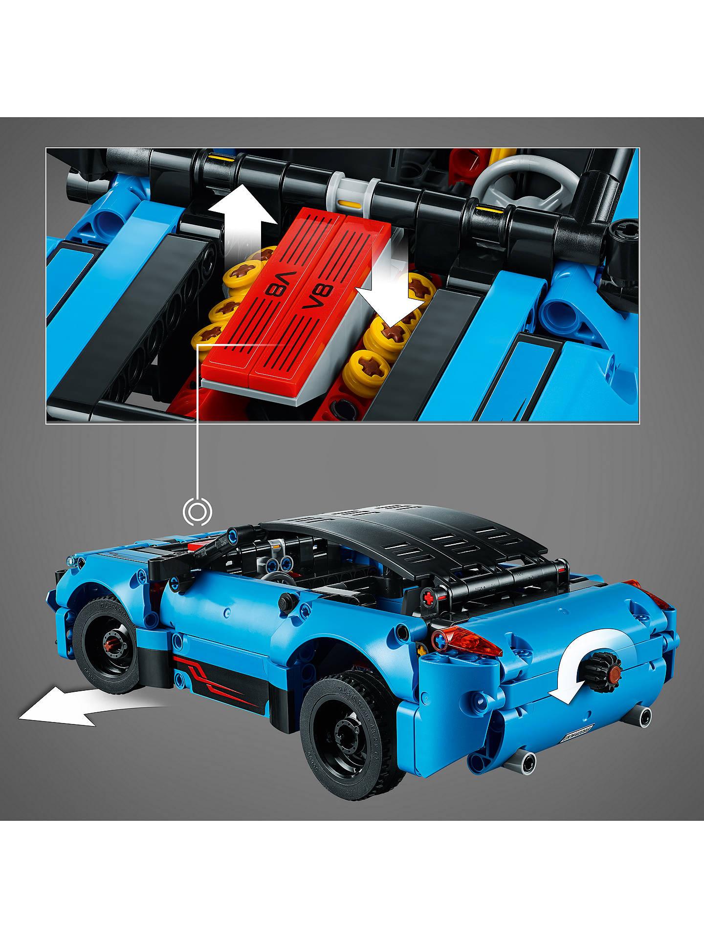 Lego Technic 42098 Car Transporter At John Lewis Partners