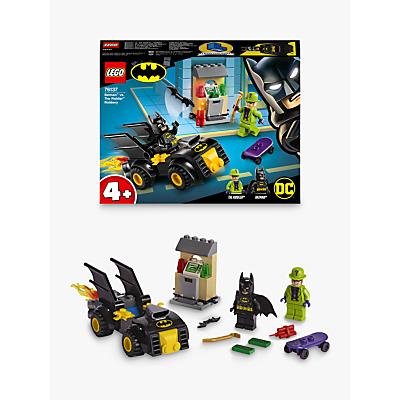 LEGO DC Batman 76137 Batman Vs. The Riddler Robbery With Batmobile