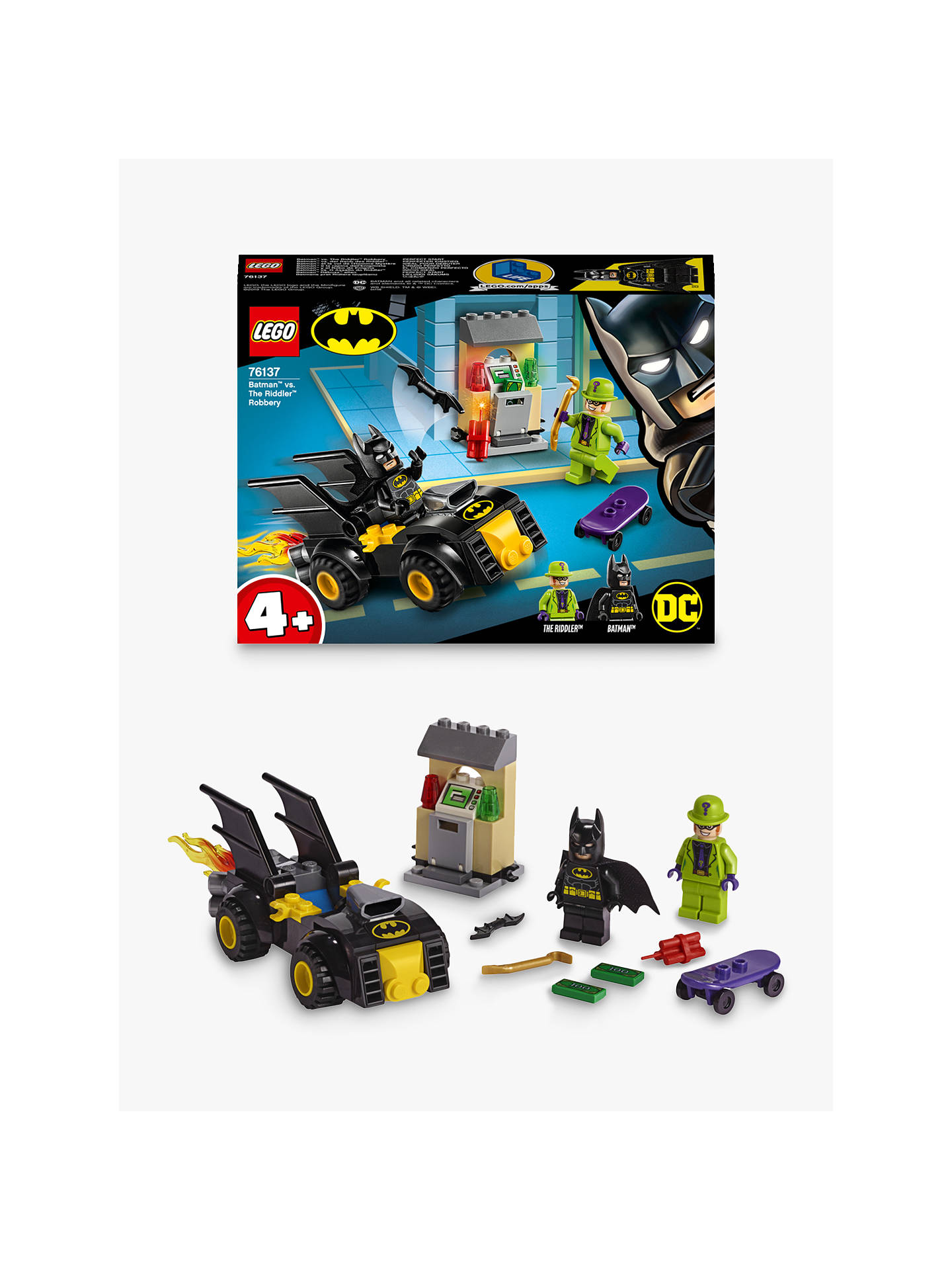 Swell Lego Dc Batman 76137 Batman Vs The Riddler Robbery With Batmobile Evergreenethics Interior Chair Design Evergreenethicsorg