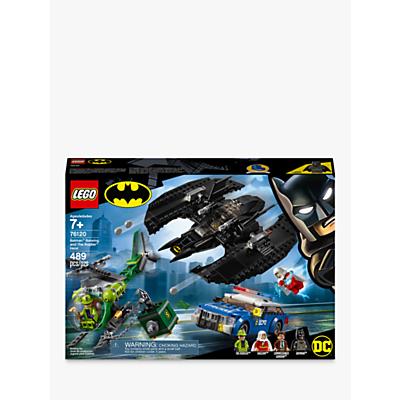 LEGO DC Batman 76120 Batman Batwing and The Riddler Heist