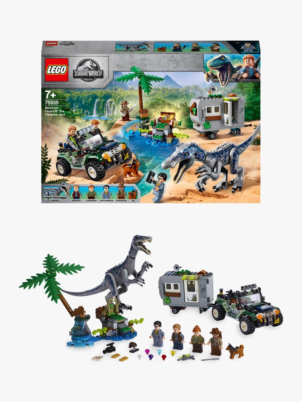 Lego LEGO Jurassic World 75935 Baryonyx Face-Off: The Treasure Hunt