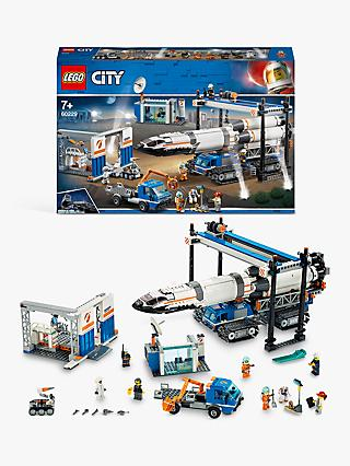 LEGO City 60229 Rocket Assembly & Transport Space Port