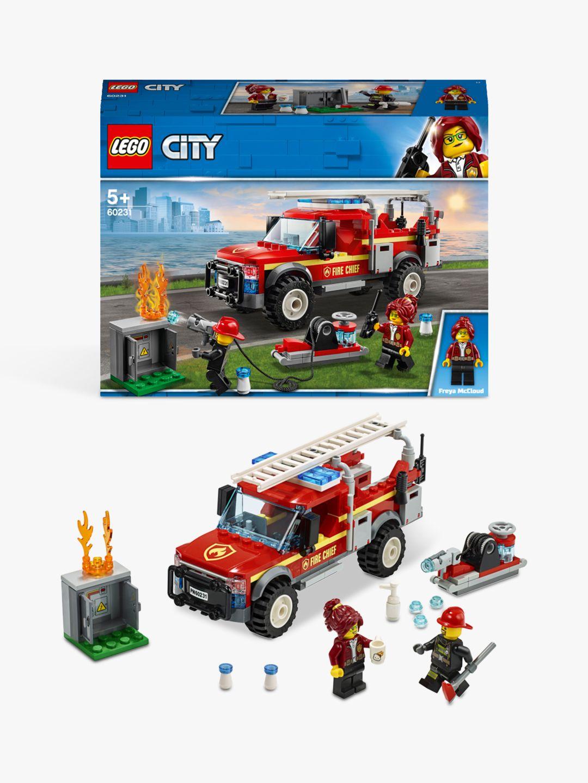 Lego LEGO City 60231 Fire Chief Response Truck