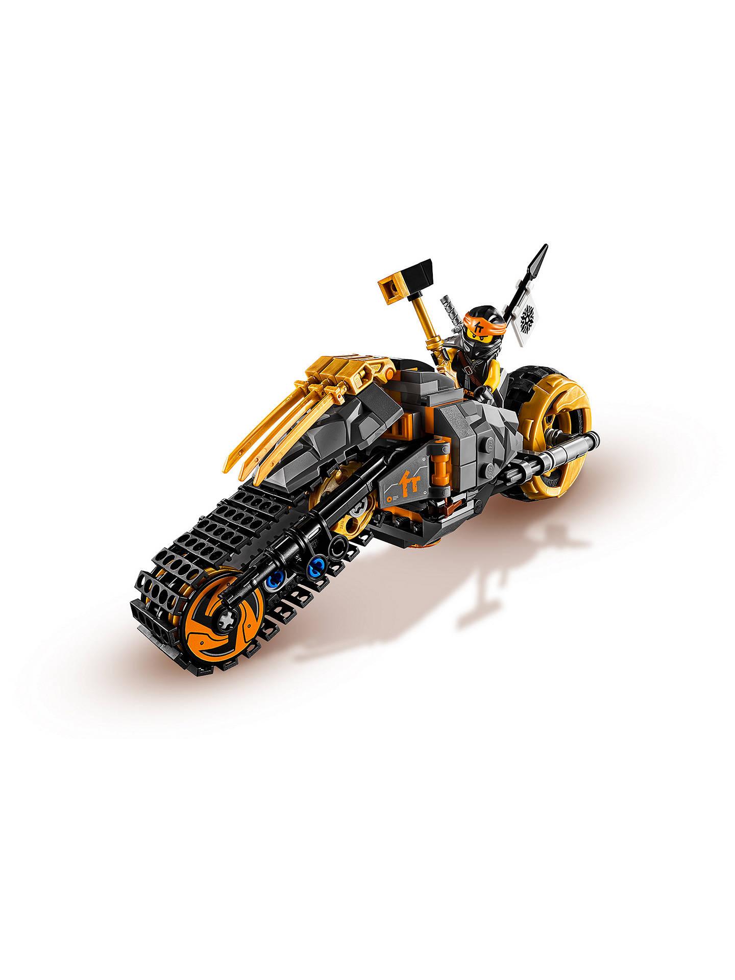 LEGO Ninjago  70672 Cole/'s Dirt Bike ~NEW~