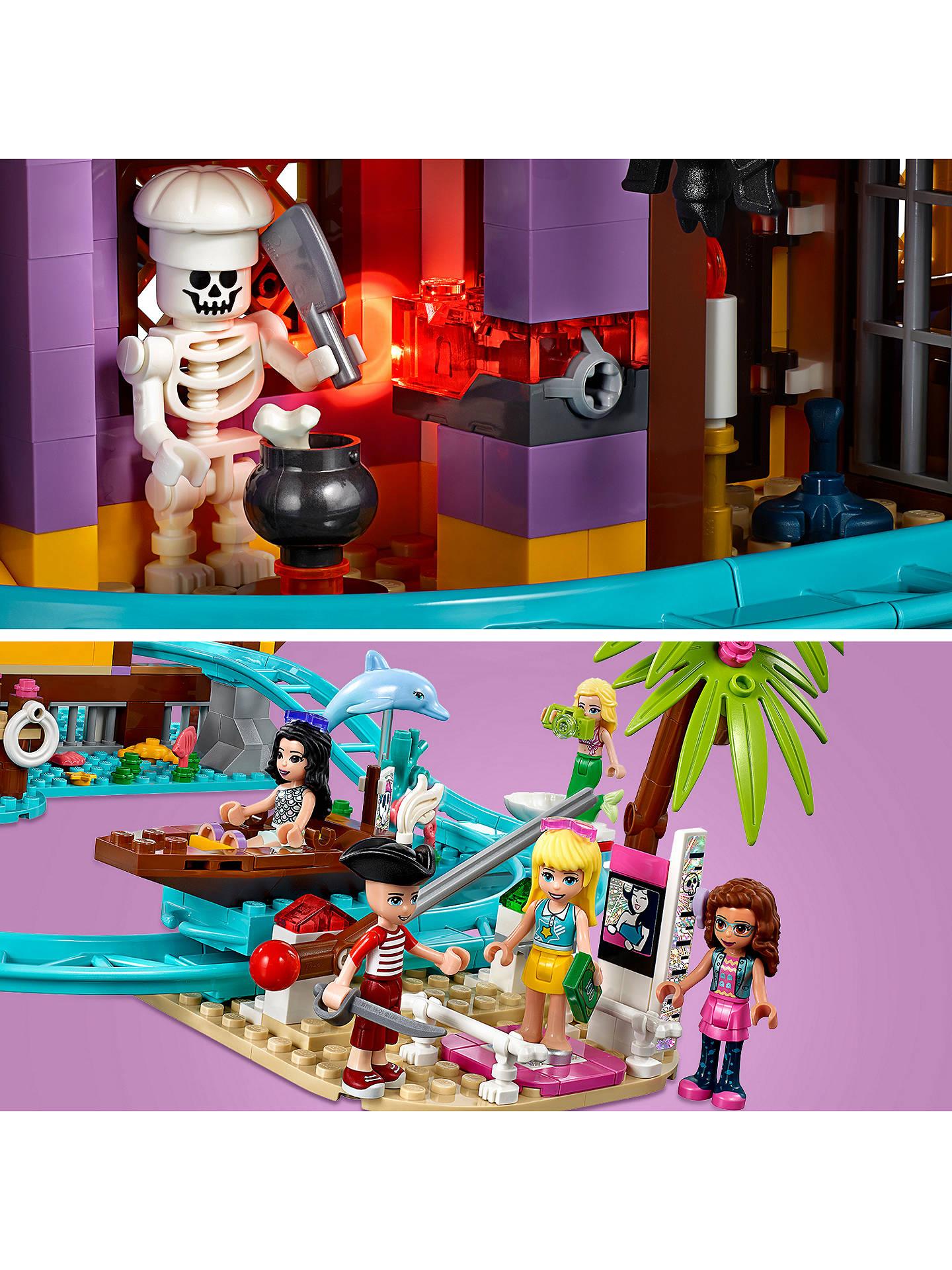 LEGO Friends 41375 Amusement Pier Park at John Lewis ...