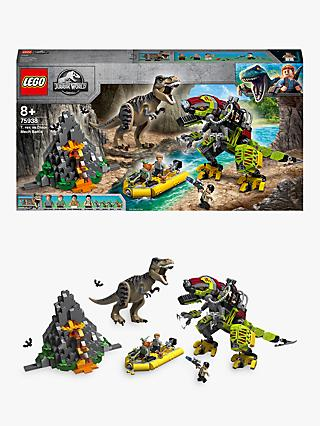 LEGO Jurassic World 75938 T. Rex vs Dino-Mech Battle