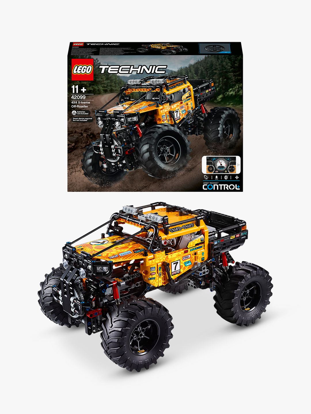 Buy LEGO Technic 42099 4x4 X-treme Off-Roader Online at johnlewis.com