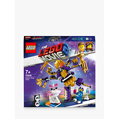 LEGO THE LEGO MOVIE 2 70848 Systar Party Crew