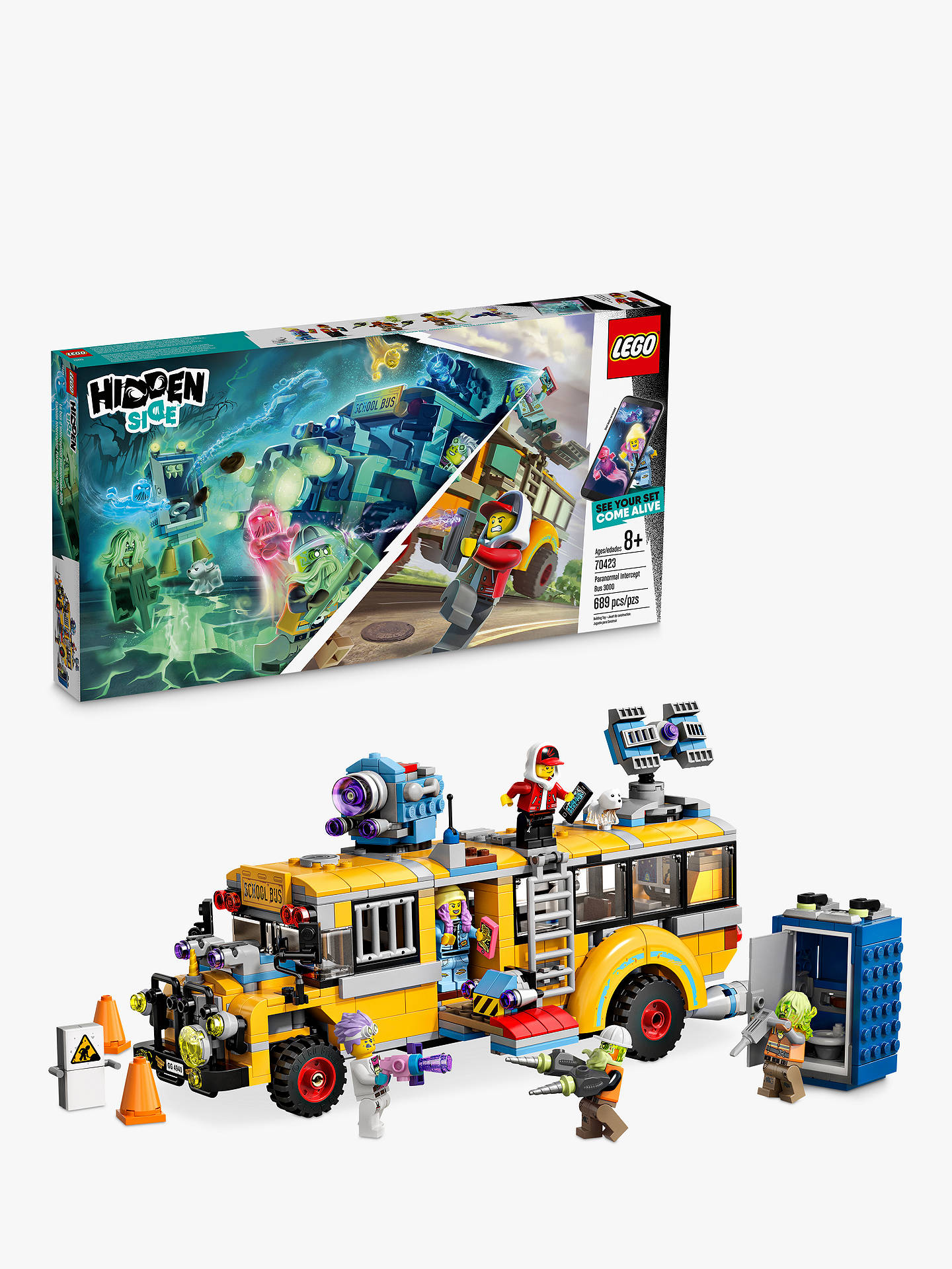 LEGO Hidden Side 70423 Paranormal Intercept Bus 3000