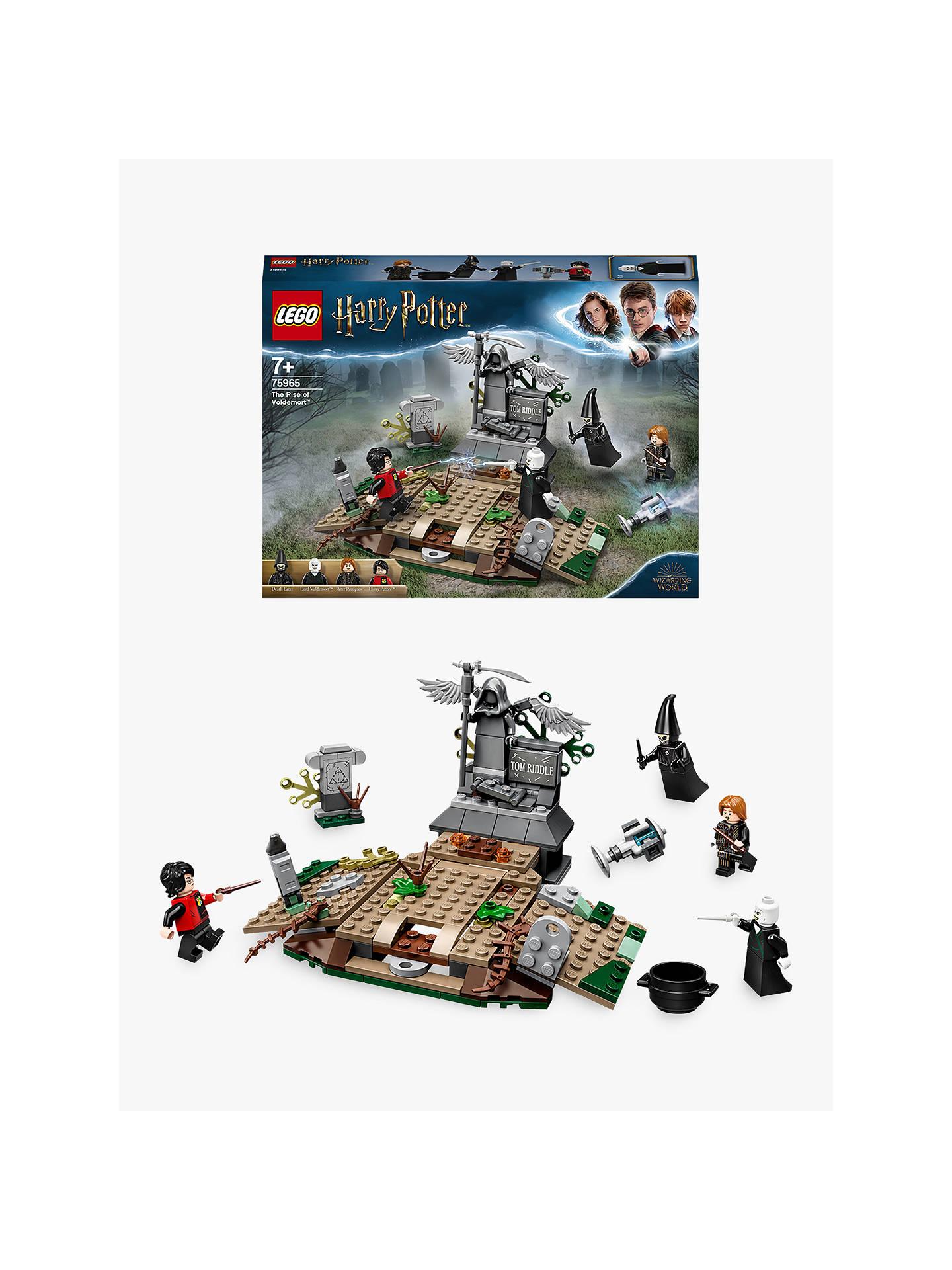 Harry Potter Death Eater Custom Minifigure Harry Potter LEGO Compatible