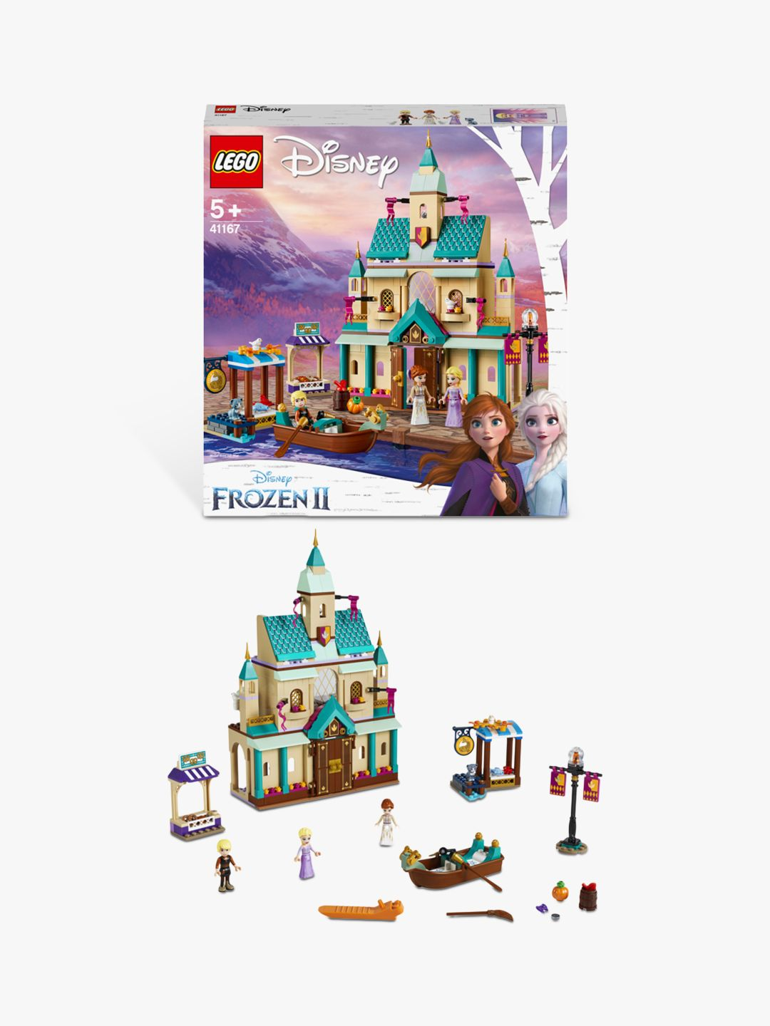 Buy LEGO Disney Frozen II 41167 Arendelle Castle Village Online at johnlewis.com