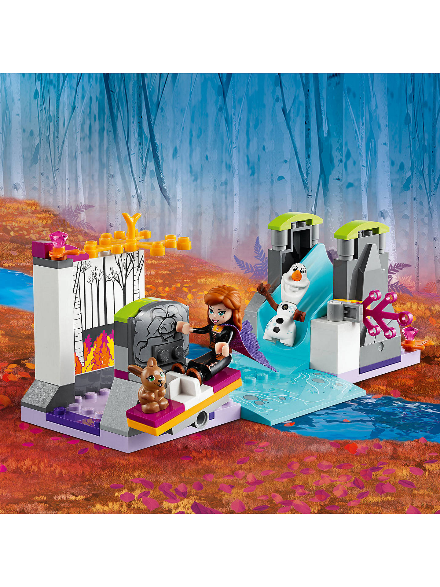 Anna/'s Canoe Expedition Building Set Brand New Disney Frozen 2 Lego