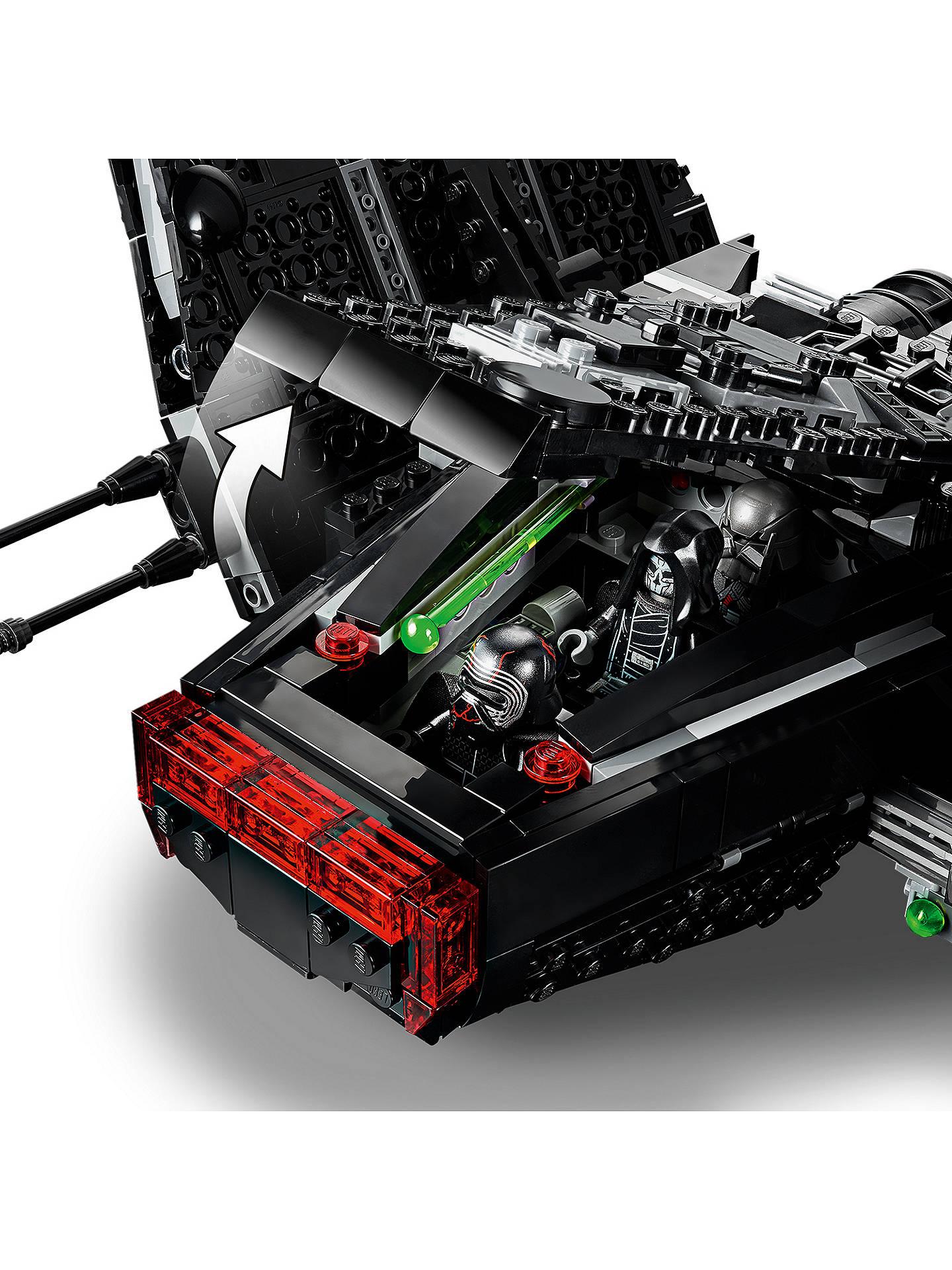 Lego Star Wars 75256 Kylo Ren S Shuttle At John Lewis Partners