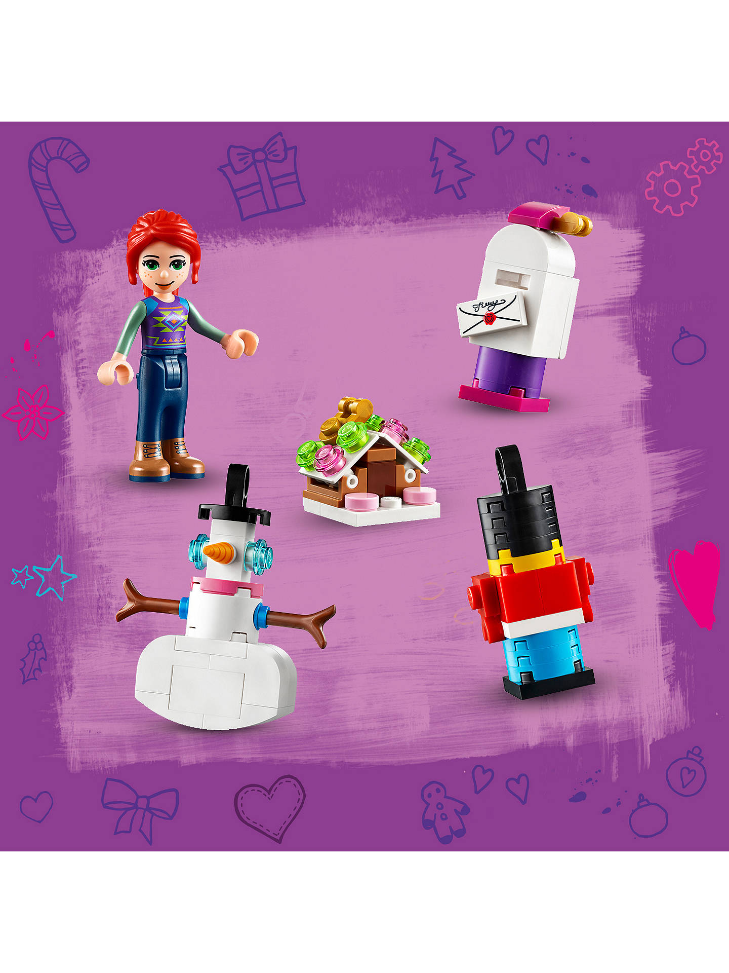 Buy LEGO Friends 41382 2019 Advent Calendar Online at johnlewis.com