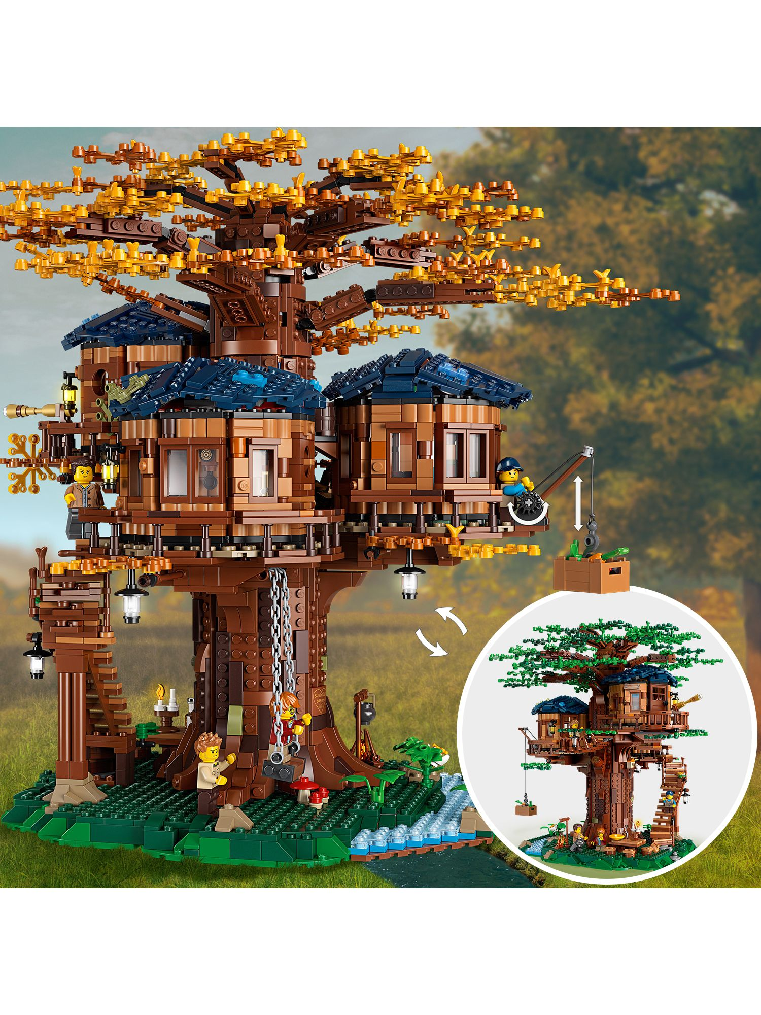 Picture of: Lego Ideas 21318 Tree House At John Lewis Partners