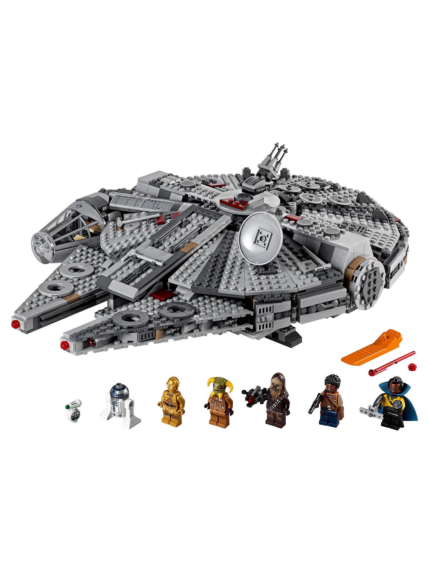 Prime Lego Star Wars 75257 Millennium Falcon Uwap Interior Chair Design Uwaporg