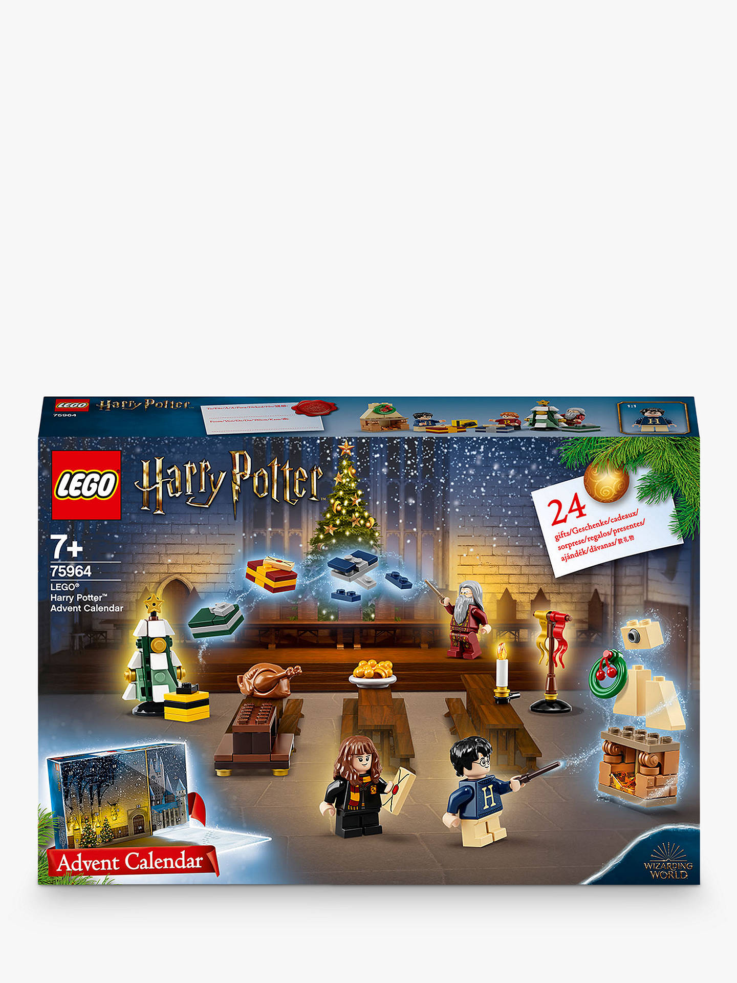 Calendrier Side Car Cross 2019.Lego Harry Potter 75964 Advent Calendar 2019 With Minifigures