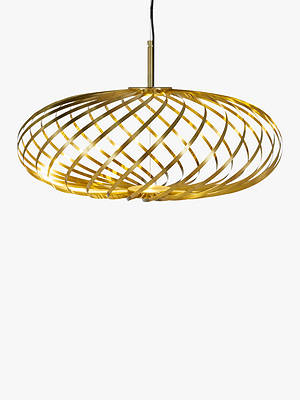 Buy Tom Dixon Spring LED Small Ceiling Light, Gold Online at johnlewis.com