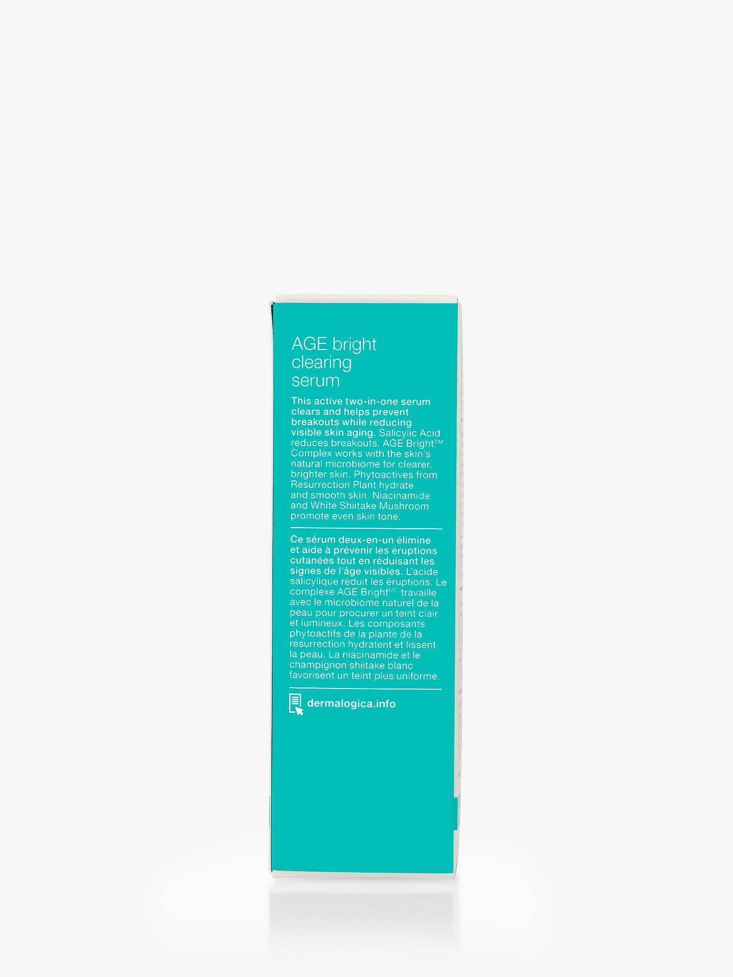 Buy Dermalogica AGE Bright Clearing Serum, 30ml Online at johnlewis.com