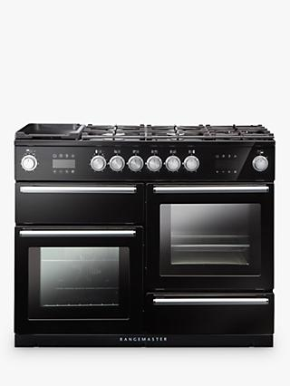 Rangemaster NEX110SODFF Nexus Steam 110 Dual Fuel Range Cooker, A Energy Rating