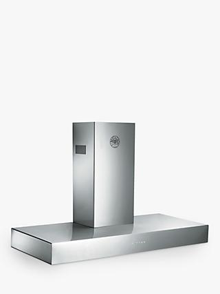Bertazzoni Master Series K120CONXA 120cm Chimney Cooker Hood, Stainless Steel