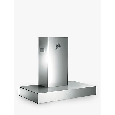 Bertazzoni Master Series K90CONXA 90cm Chimney Cooker Hood, Stainless Steel