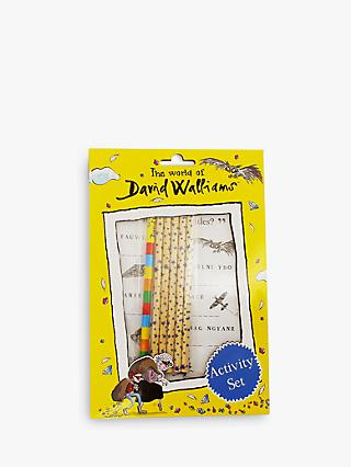 The World of David Walliams A5 Stationery Activity Set