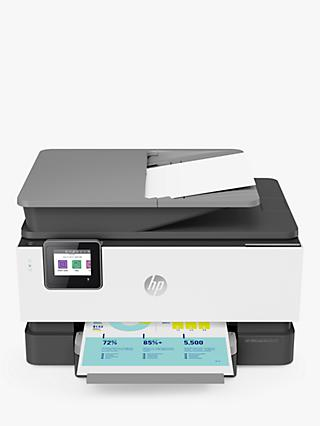 HP OfficeJet Pro 9014 All-in-One Wireless Printer & Fax Machine with Touch Screen, HP Instant Ink Compatible, White & Grey