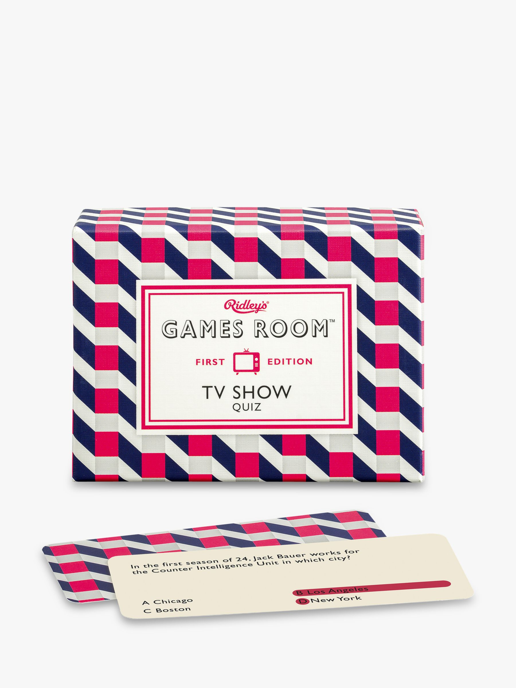 Ridley's Ridleys TV Show Quiz Game