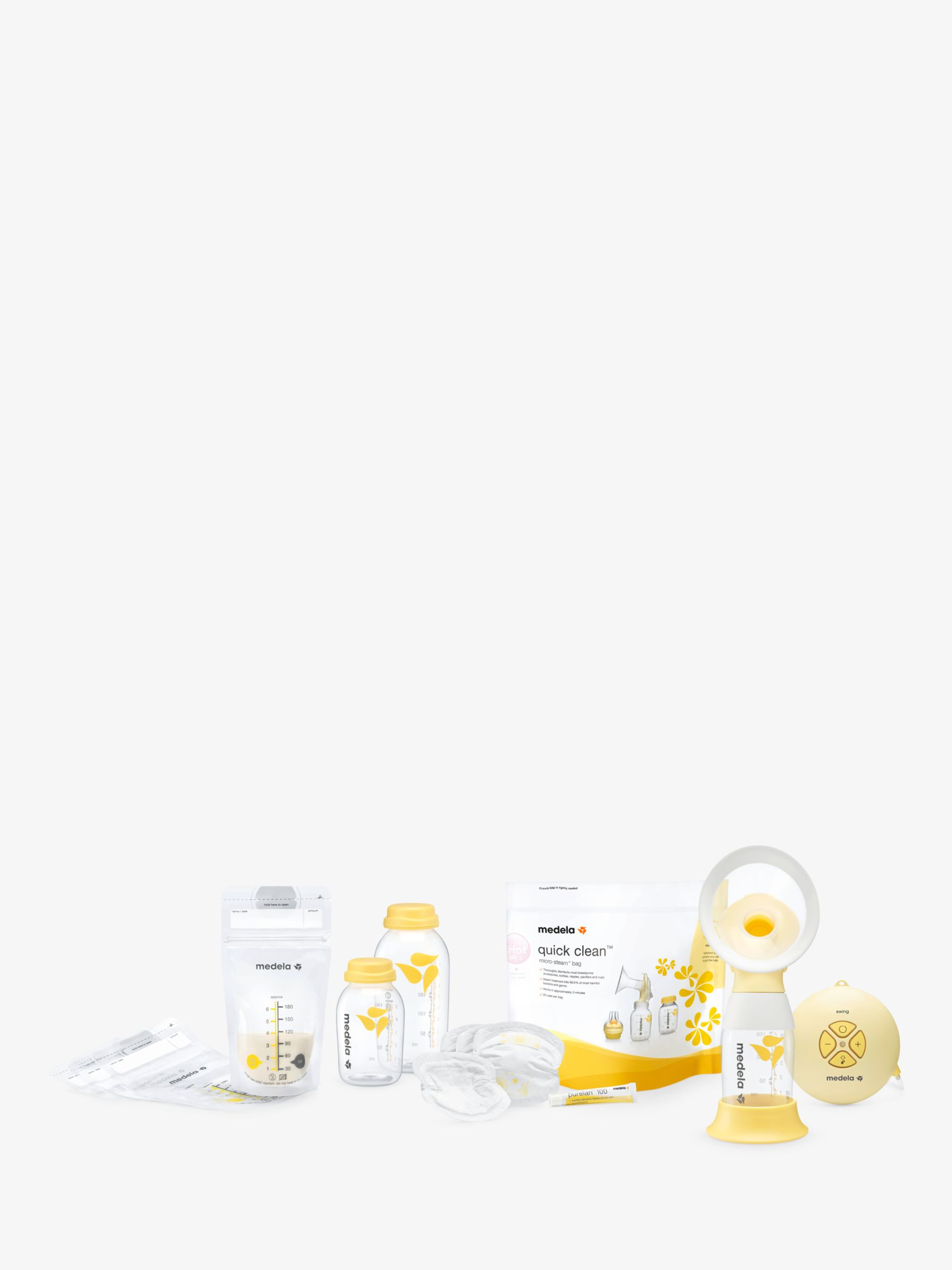 Medela Swing Flex Premium Edition Electric Breast Pump Set At John