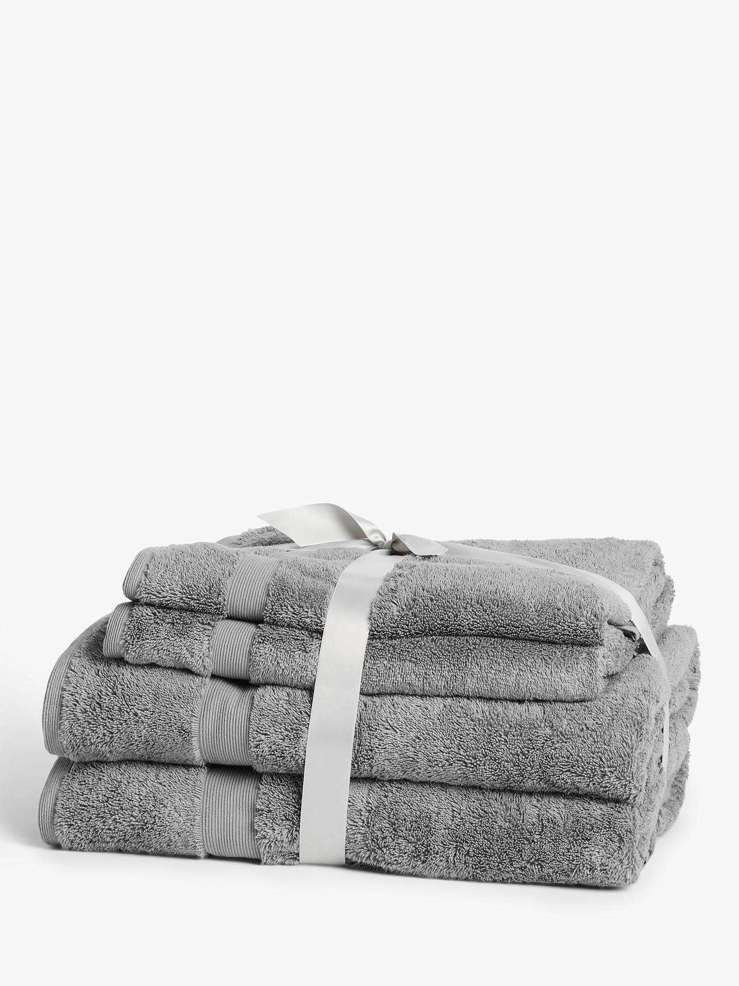 John Lewis Egyptian Cotton Guest Towel Pack Of 3.