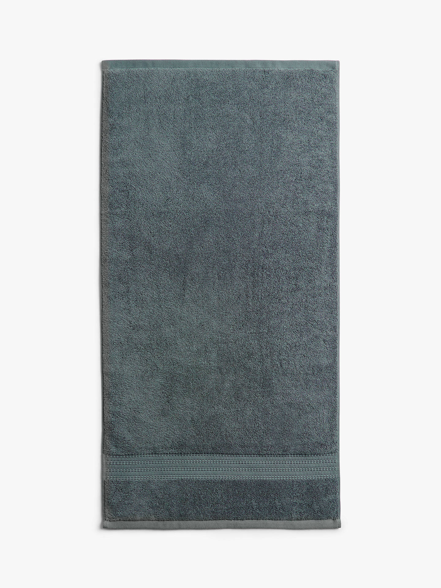Buy John Lewis & Partners Plush Supima® Cotton 4 Piece Towel Bale, Dark Steel Online at johnlewis.com