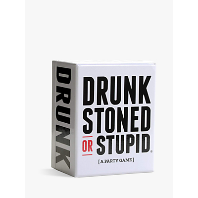 Image of Drunk Stoned or Stupid Party Game