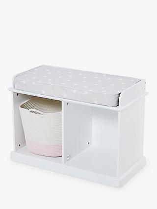 Great Little Trading Co Abbeville Small Storage Bench, White