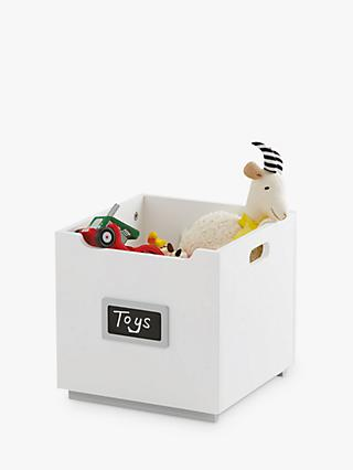 Great Little Trading Co Barbican Stackable Toy Storage Box, Grey