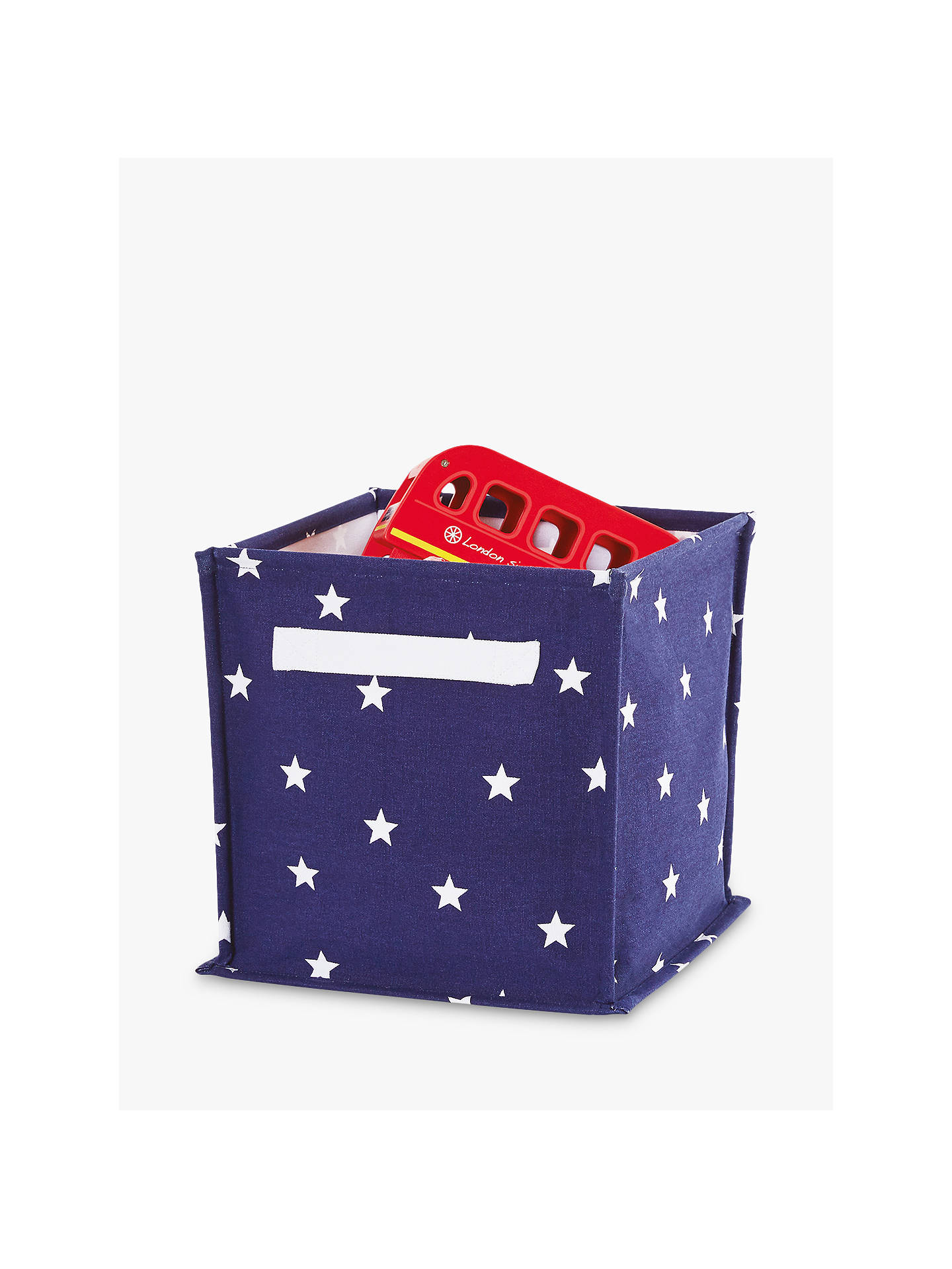 Great Little Trading Co Canvas Storage Cube Box at John ...