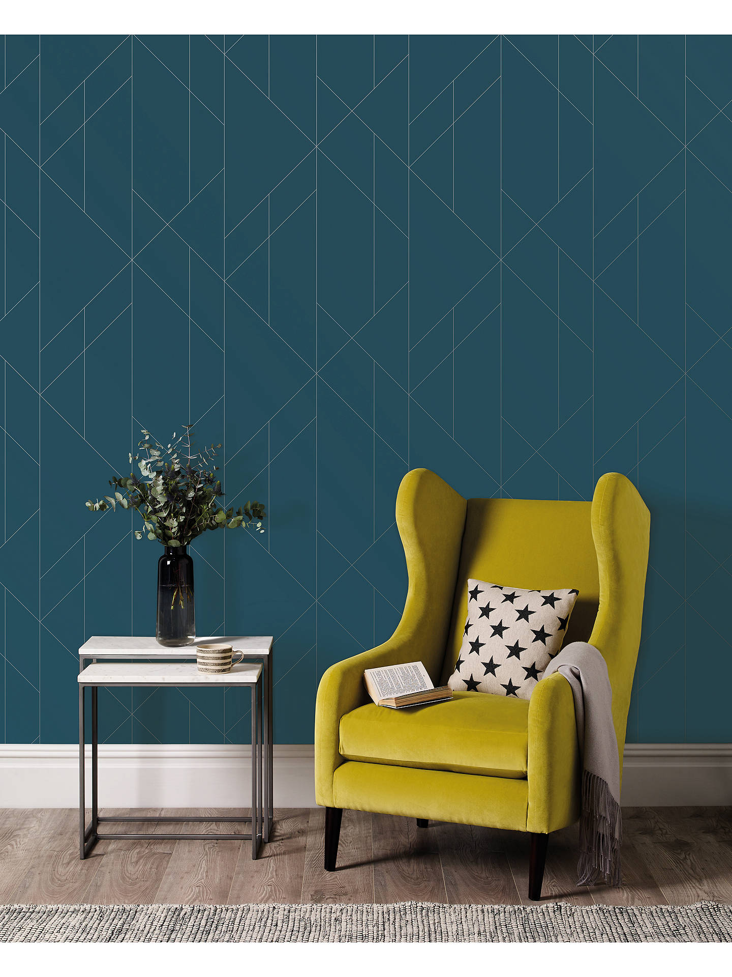 Buy Terence Conran Torpa Angular Triangles Wallpaper, TC25200 Online at johnlewis.com