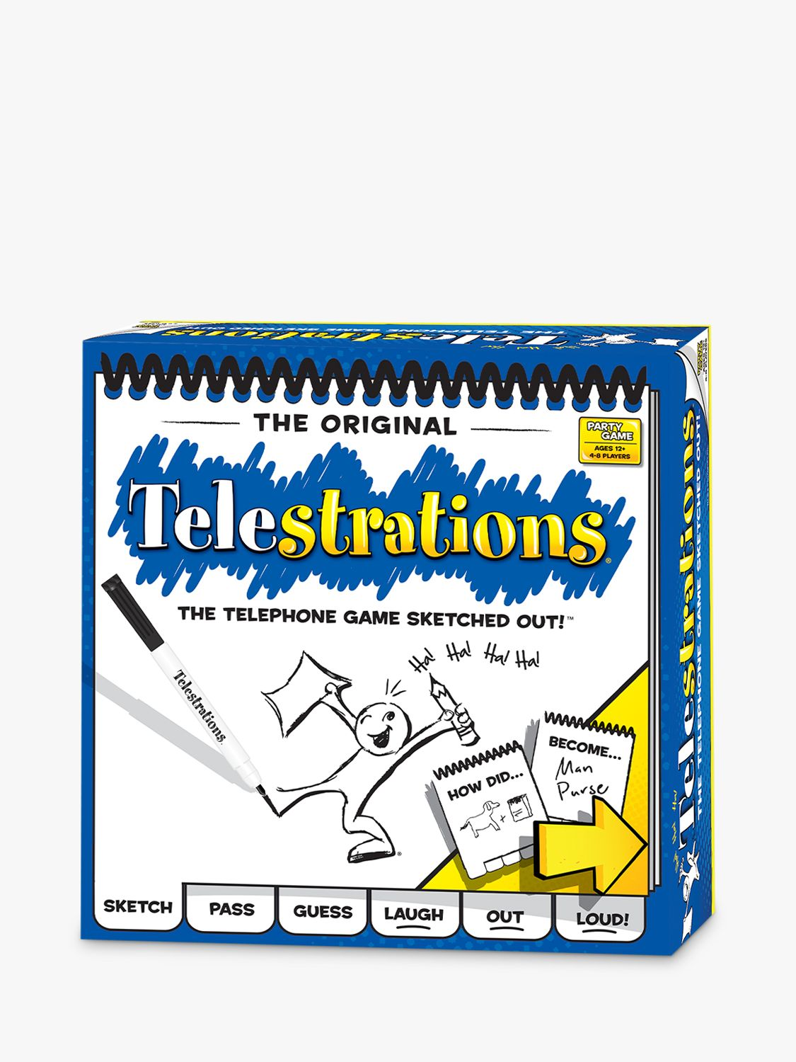 Esdevium Telestrations Party Game