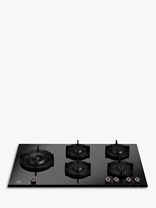 Bertazzoni P905LPROGNE Gas Hob, Black Glass