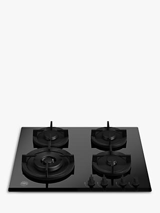 Bertazzoni P604LMODGNE Gas Hob, Black Glass