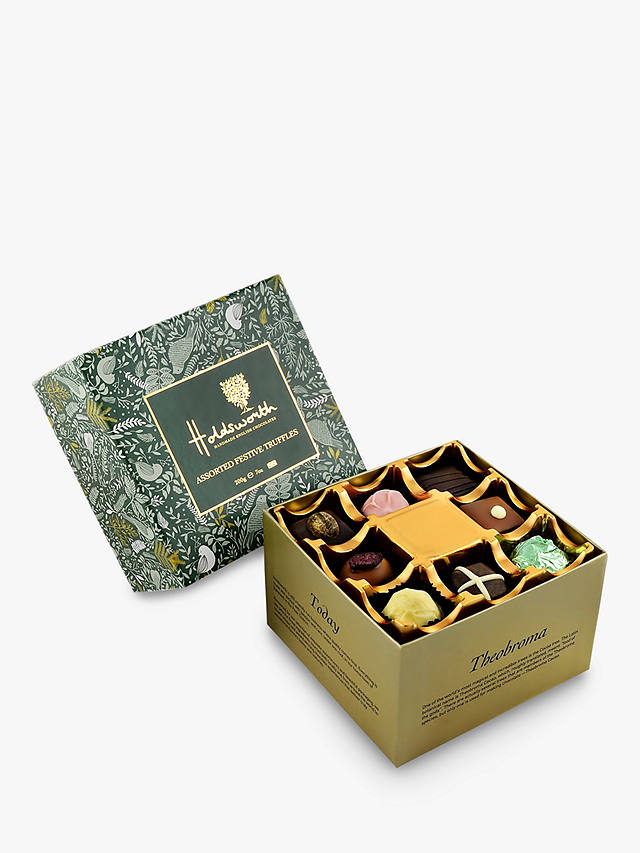 Buy Holdsworth Assorted Festive Truffles, 200g Online at johnlewis.com