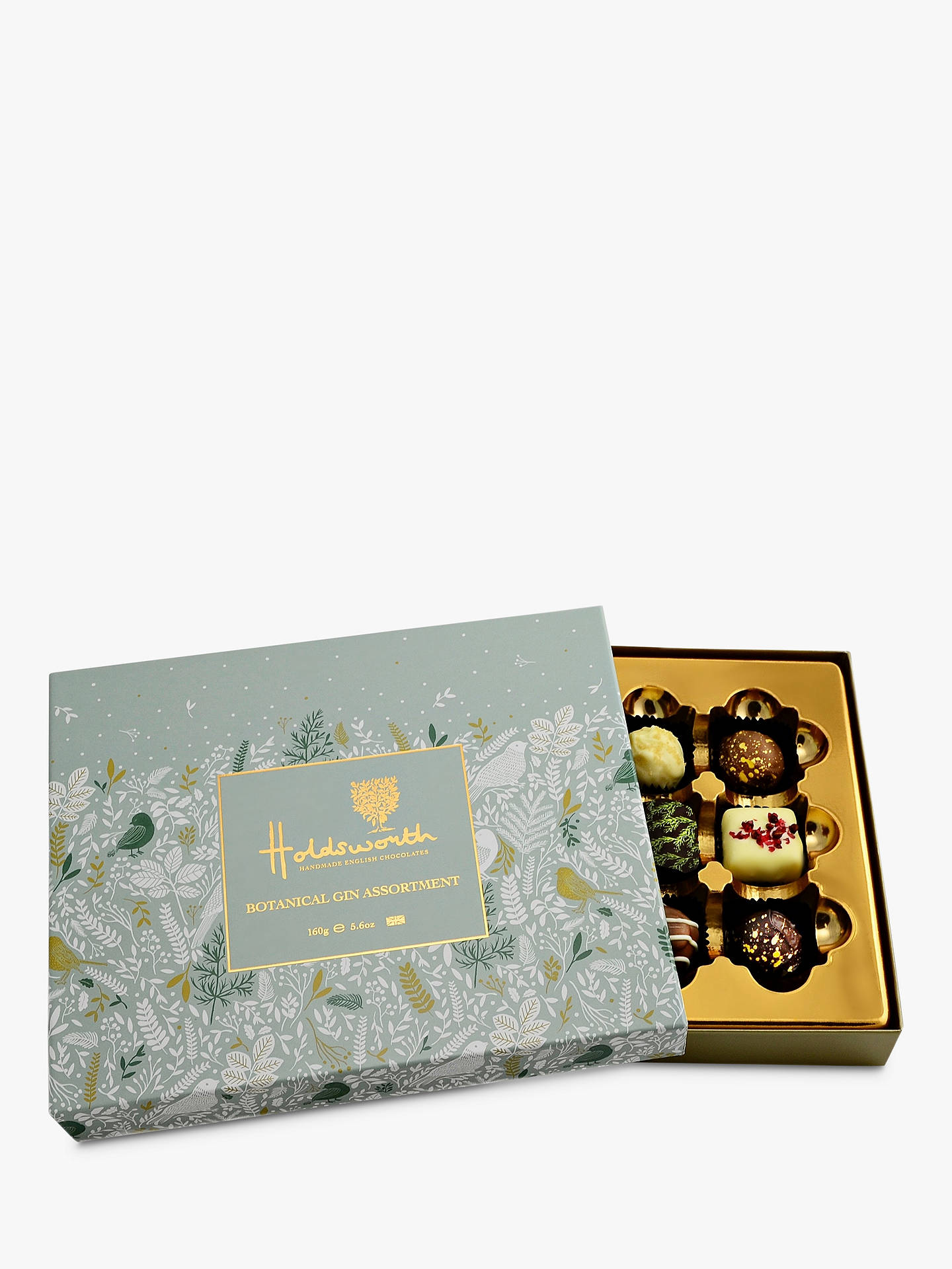Buy Holdsworth Botanical Gin Truffle Assortment, 160g Online at johnlewis.com
