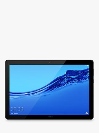"Huawei MediaPad T5 10 (2019) Tablet, Android, Kirin 659, 3GB RAM, 32GB Storage, 10.1"", Black"