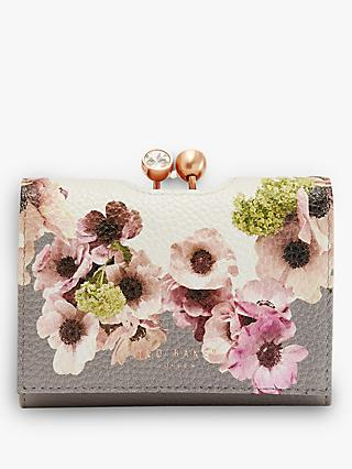 Ted Baker Abbs Neopolitan Leather Purse, Ivory