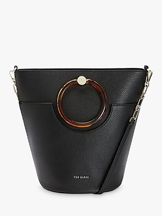 Ted Baker Aniie Leather Circle Hobo Bag