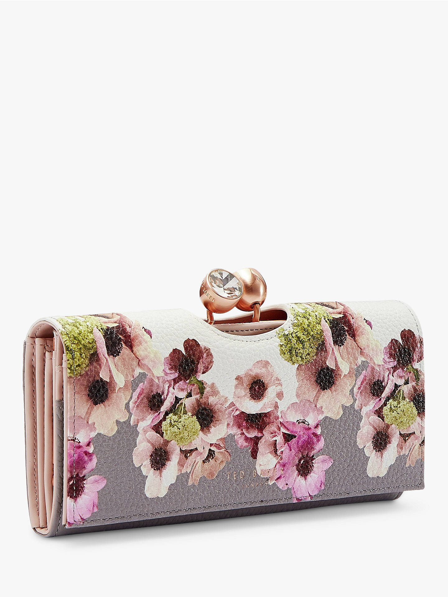 Ted Baker Adelphe Neapolitan Print Leather Matinee Purse, Multi/Ivory by Ted Baker