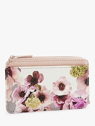 Ted Baker Teral Floral Purse, Ivory/Multi