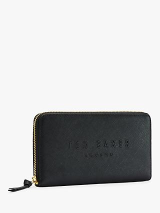 Ted Baker Tierra Leather Zip Matinee Purse