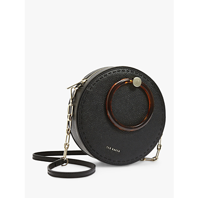 Image of Ted Baker Acantha Leather Circle Cross Body Bag