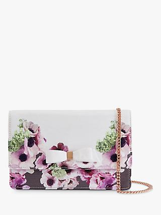 Ted Baker Amiya Neapolitan Print Cross Body Bag, Multi/Ivory